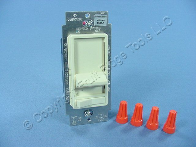 Illuminated Slide Dimmer Leviton Dimmer Slide Control Fluid Slide