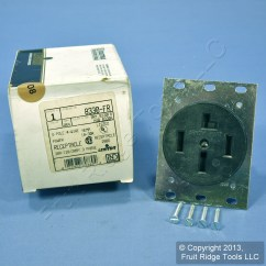 Electrical Plug X And Y 7wire Ventures Leviton 18 30 Receptacle Power Outlet Nema 30r 30a 3Øy