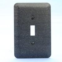 New Leviton JUMBO Black Granite Metal Decorative Light ...