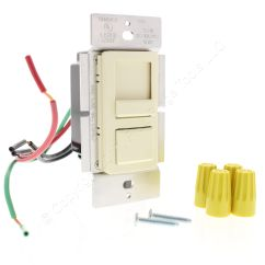 Leviton 3 Way Slide Dimmer Wiring Diagram Light Switch New Almond Incandescent Preset