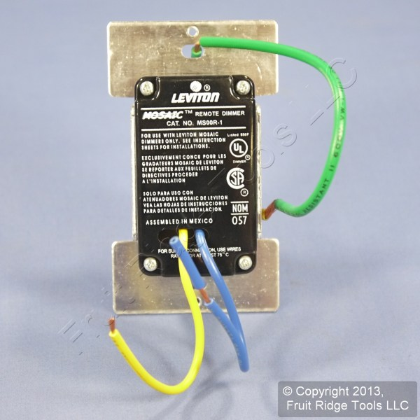 Leviton Almond Multi-remote Mural Touch Point Dimmer