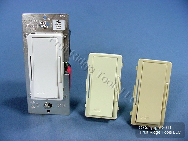 New Slide Light Dimmer Switch 3 Way 600w Incandescent 600va Magnetic