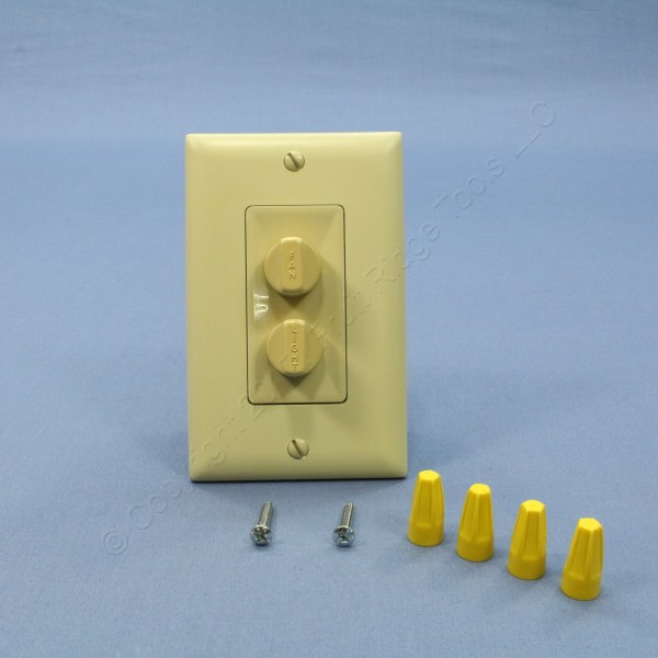 Pass And Seymour Ivory Fan Speed Controls Dimmer Switches