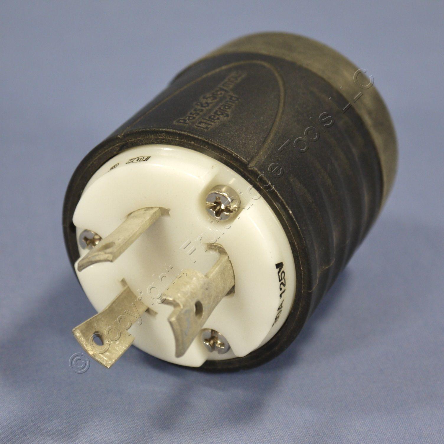 Pass Amp Seymour Twist Turn Locking Turnlok Plug Nema L5 30p
