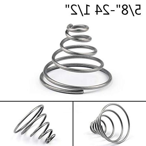 Artudatech New 1PC Replacement Spring For Napa 4003