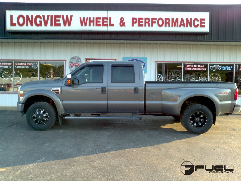 medium resolution of ford f 350 with fuel dually wheels throttle dually rear d513