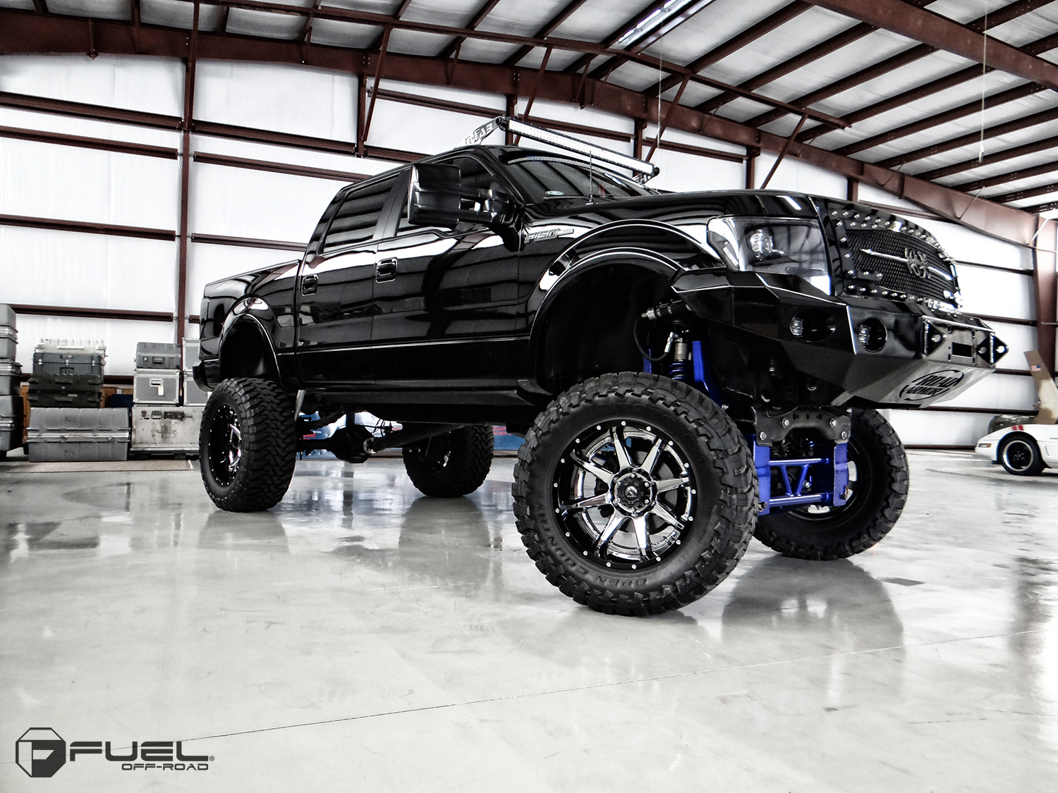 hight resolution of ford f 150 with fuel 2 piece wheels rampage d247