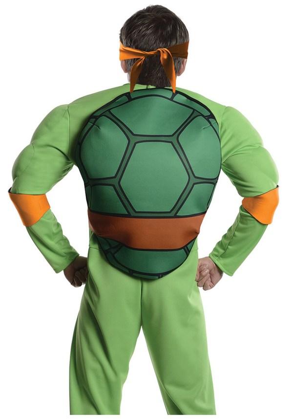 Deluxe Tmnt Michelangelo Costume Men