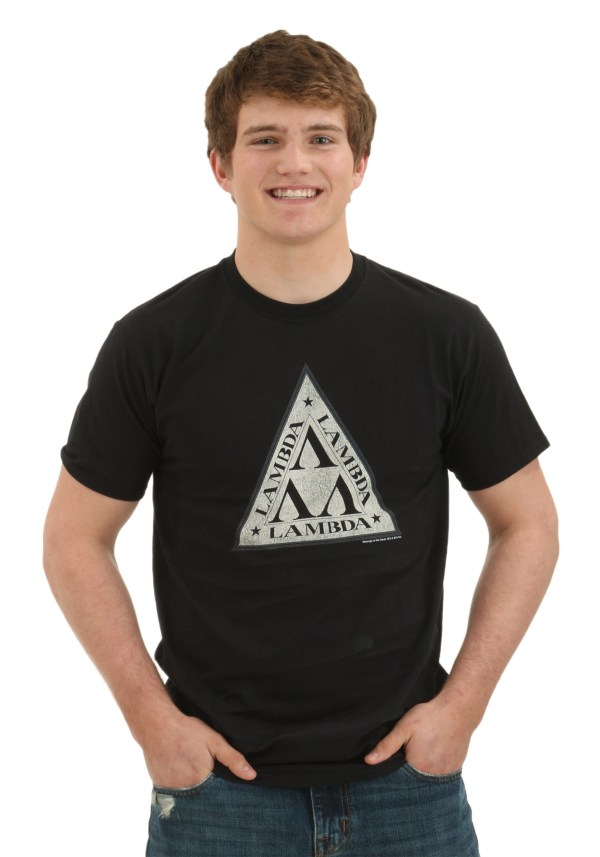 Revenge Of Nerds Lambda Logo T-shirt
