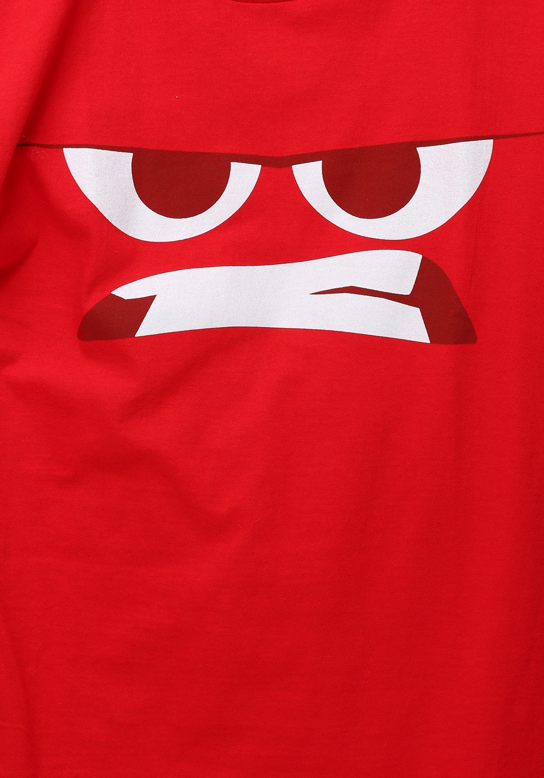 Inside Out Anger Face T Shirt