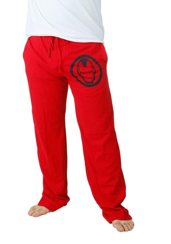 Red Iron Man Lounge Pants