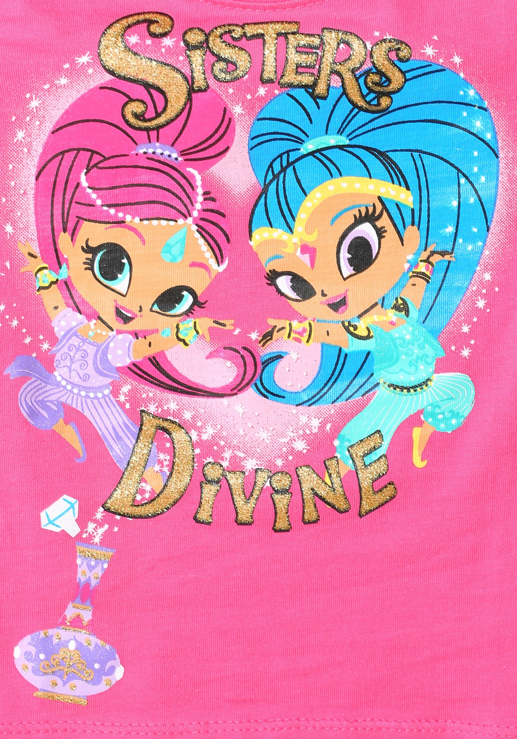Shimmer & Shine Sisters Divine Girls T Shirt