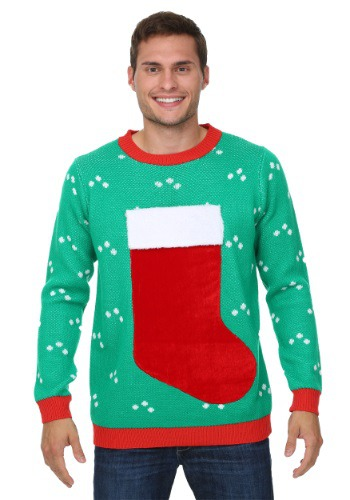 3D Christmas Stocking Ugly Christmas Sweater