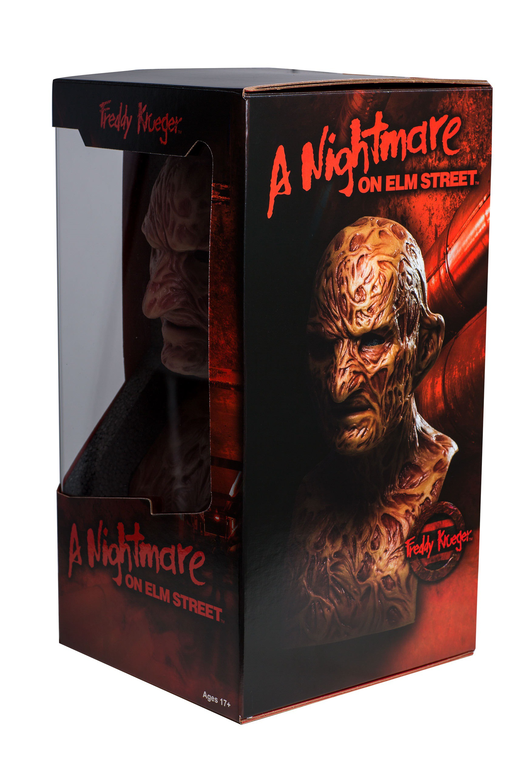 Authentic Freddy Krueger Collectors Mask