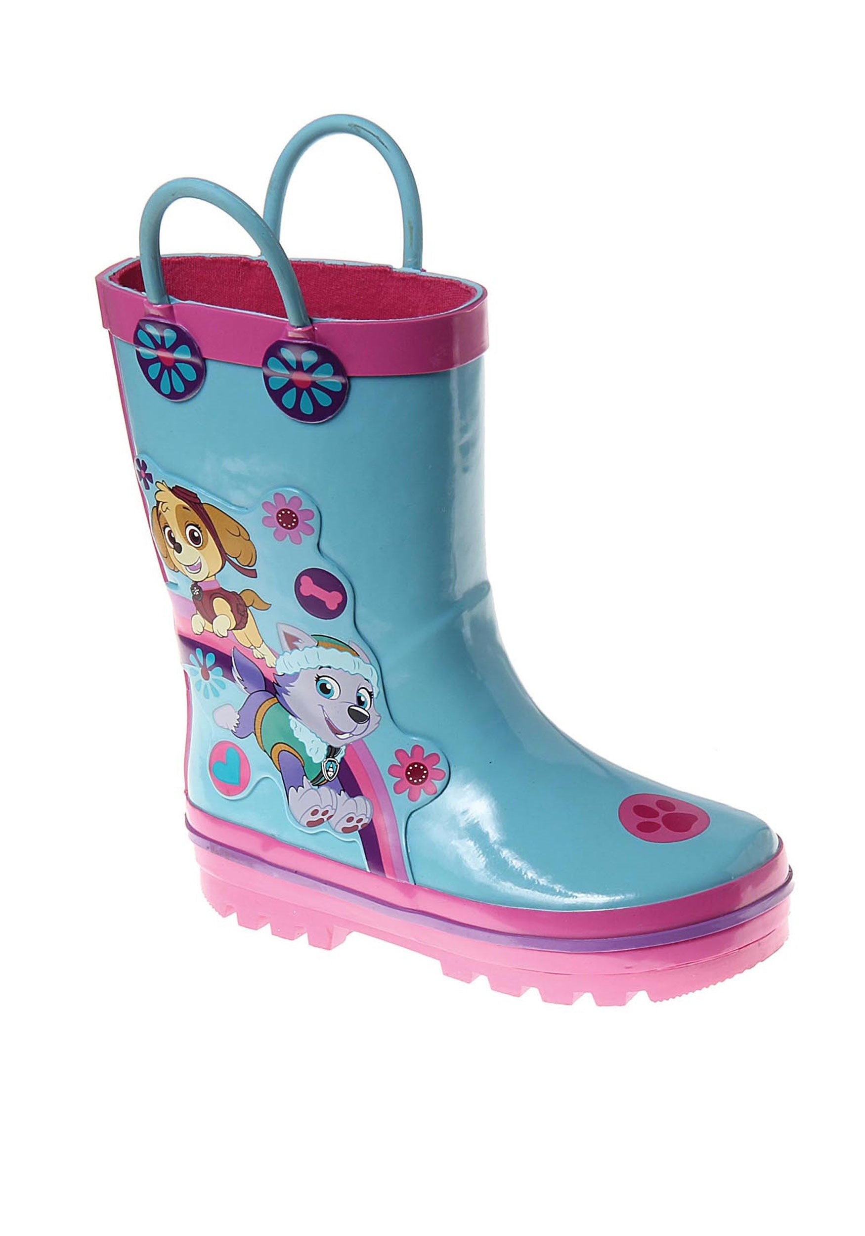 Paw Patrol Skye and Everest Rain Boots for Girls