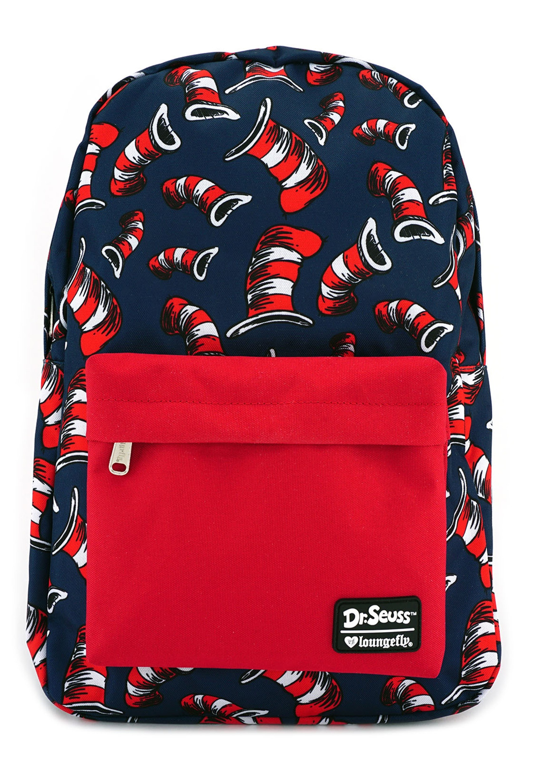 Loungefly Dr Seuss Cat In The Hat Backpack