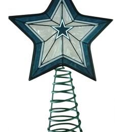 dallas cowboys star tree topper [ 1750 x 2500 Pixel ]
