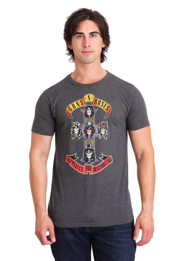 Guns Roses Appetite Destruction Adult T-shirt