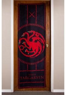 """Game Of Thrones House Targaryen 26"""" X 78"""" Door Banner"""