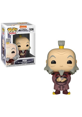 Funko Pop! Animation: Avatar- Iroh w/ Tea Figure
