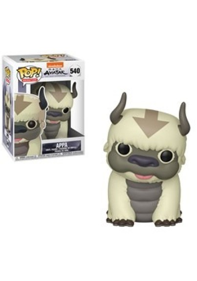 Pop Animation Avatar Appa Figure