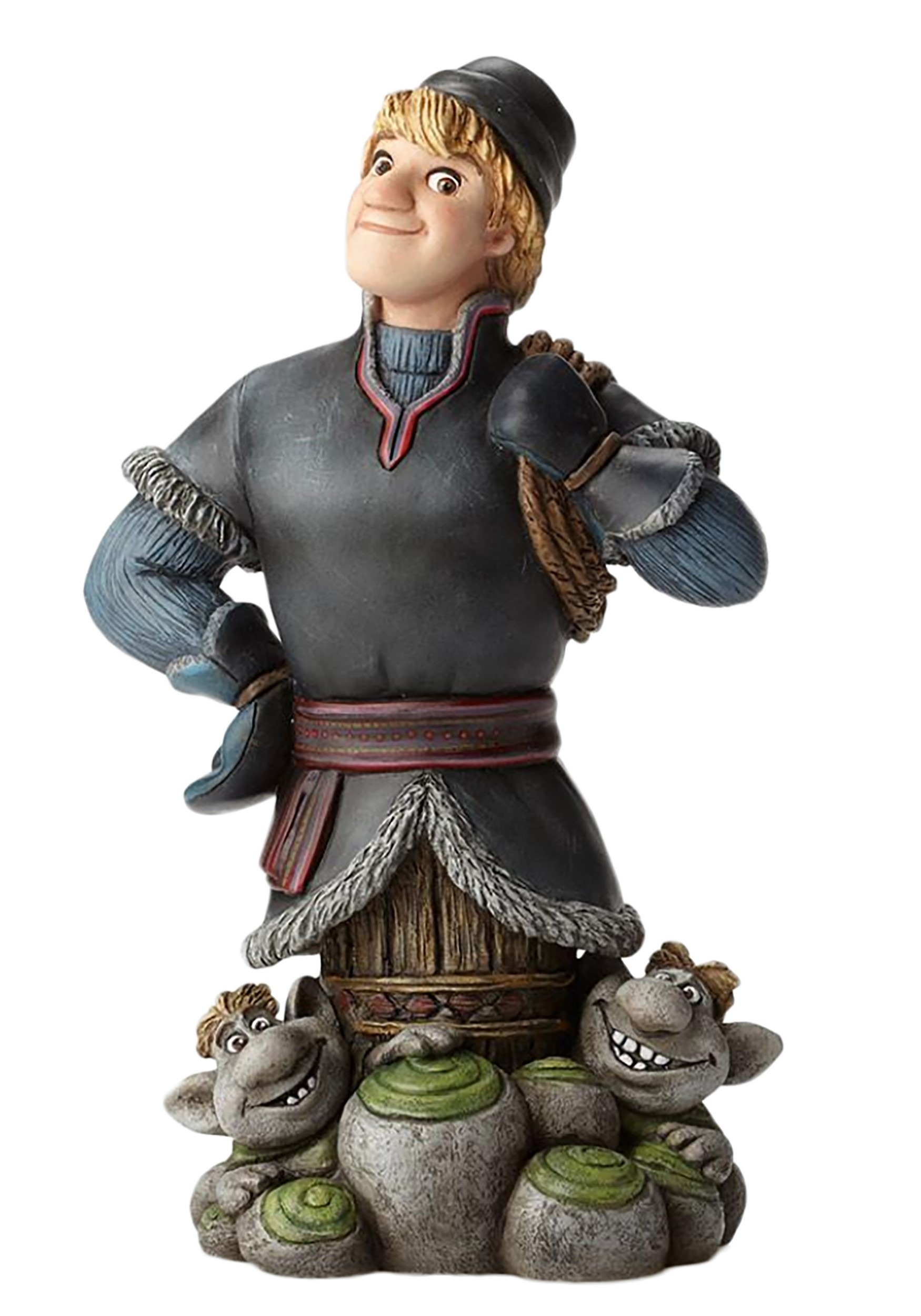 Frozen Kristoff With Trolls Statue