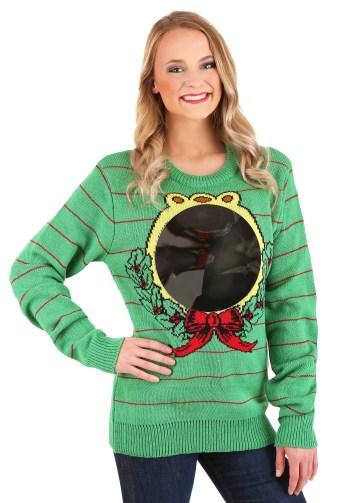 Mirror Christmas sweater