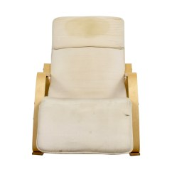 Accent Rocking Chairs Outdoor Chair Cushions Kmart 90 Off White With Recliner
