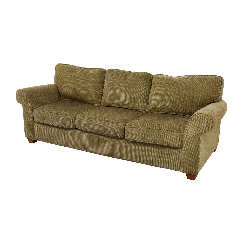 fabric sofa pictures bridgewater style 90 off bloomingdale 39s beige tweed