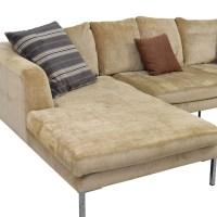 85% OFF - Modani Modani Beige Sectional Sofa / Sofas