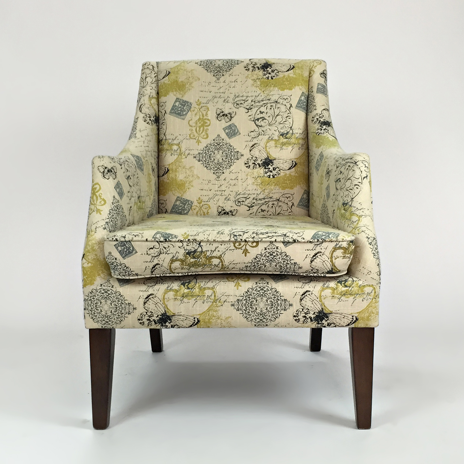 rustic accent chairs nice bean bag 29 off gold upholstered arm