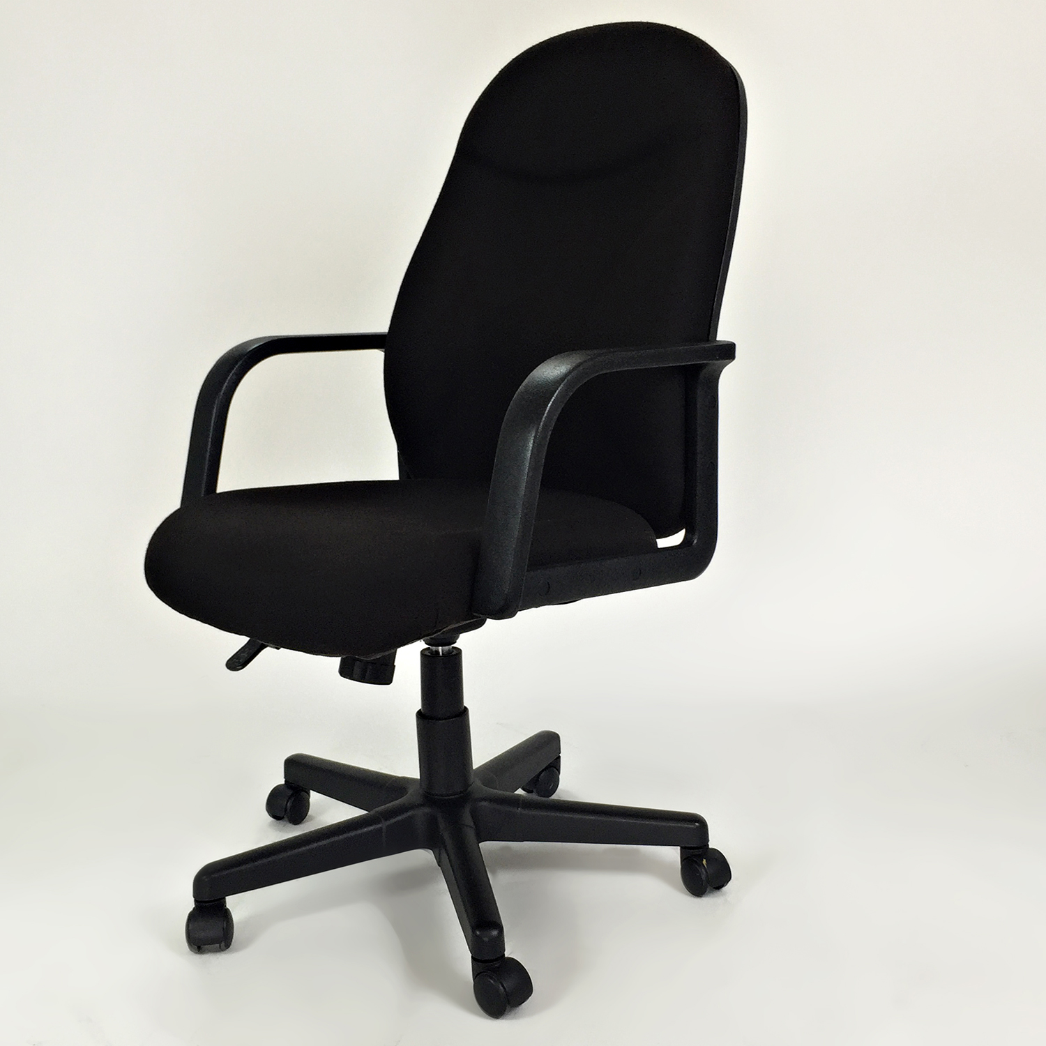 revolving chair second hand antique school desk 78 off unknown brand black office chairs