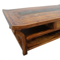 90% OFF - Natural Wood Coffee Table / Tables