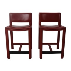 Room And Board Chair Table Rental 67 Off Sava Leather Bar