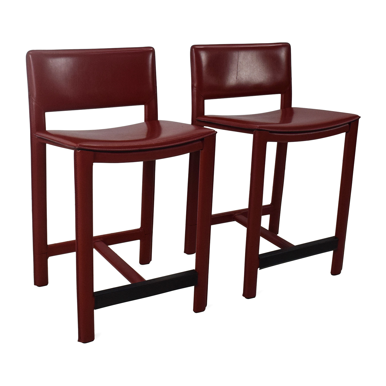 room and board chair hickory furniture 67 off sava leather bar