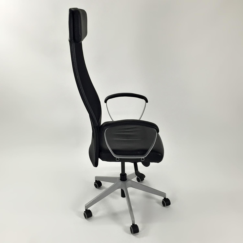 51 OFF  IKEA Markus Swivel Chair  Chairs
