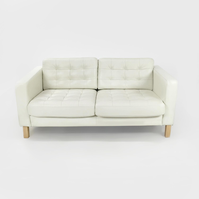 sofas in ikea ashley bradington truffle sofa 50 off white leather couch