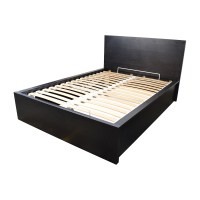 30% OFF - IKEA IKEA Full Bed Frame with Storage / Beds