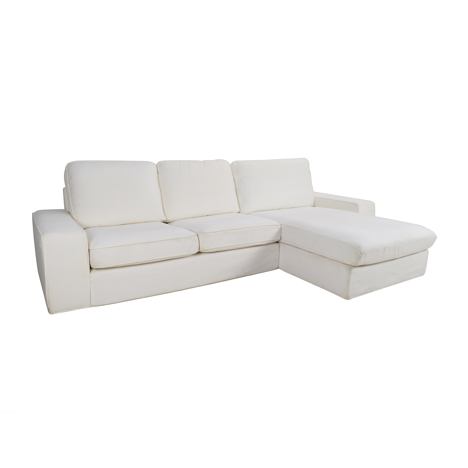 ikea sleeper sofa with chaise cheap sofas for apartments 69 off kivik and