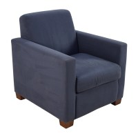 68% OFF - Blue Accent Single Seat Cushion Chair / Chairs