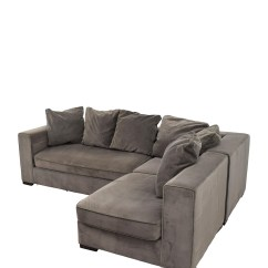 Sectional Sofas With Recliners And Bed How To Patch Tear In Leather Sofa 53% Off - West Elm Modular Gray /