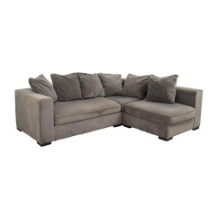 Small Sectional Sofa West Elm Bed Canada Online 53 Off Modular Gray Sofas