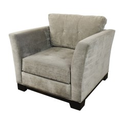 Gray Tufted Chair Wingback Cover 75 Off Macy 39s Grey Arm Chairs