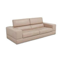 Leather Sofa And Chairs Steel Frame Set 82 Off Lazzoni Beige Sofas