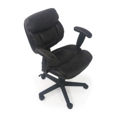 Plush Leather Chair Covers Homebase 86 Off Faux Office Chairs