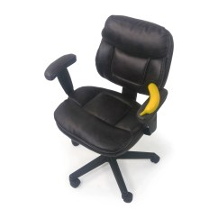 Plush Leather Chair Eames Craigslist 86 Off Faux Office Chairs
