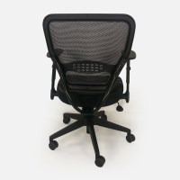 67% OFF - Black Leather Office Chair / Chairs