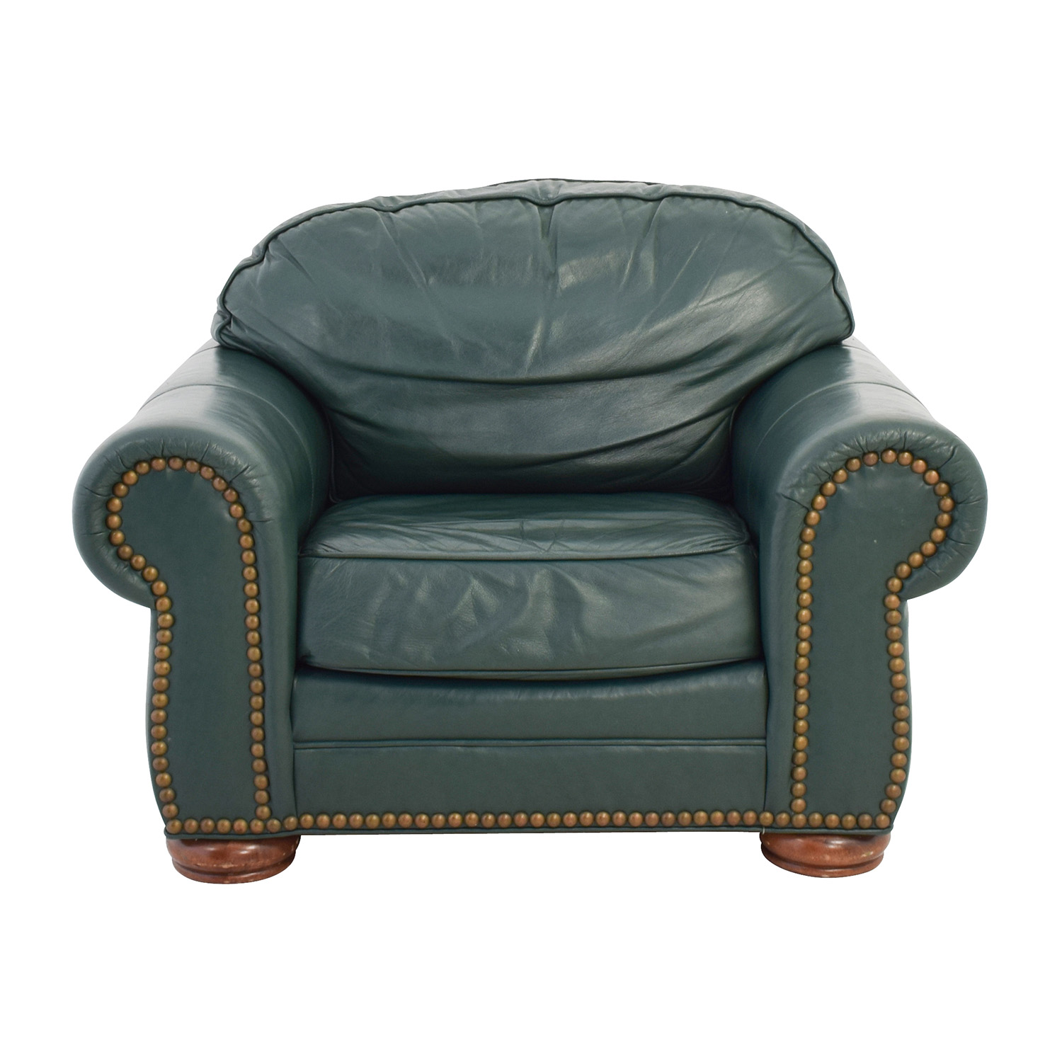 oversized leather chair nursery rocking chairs 65 off clayton marcus green