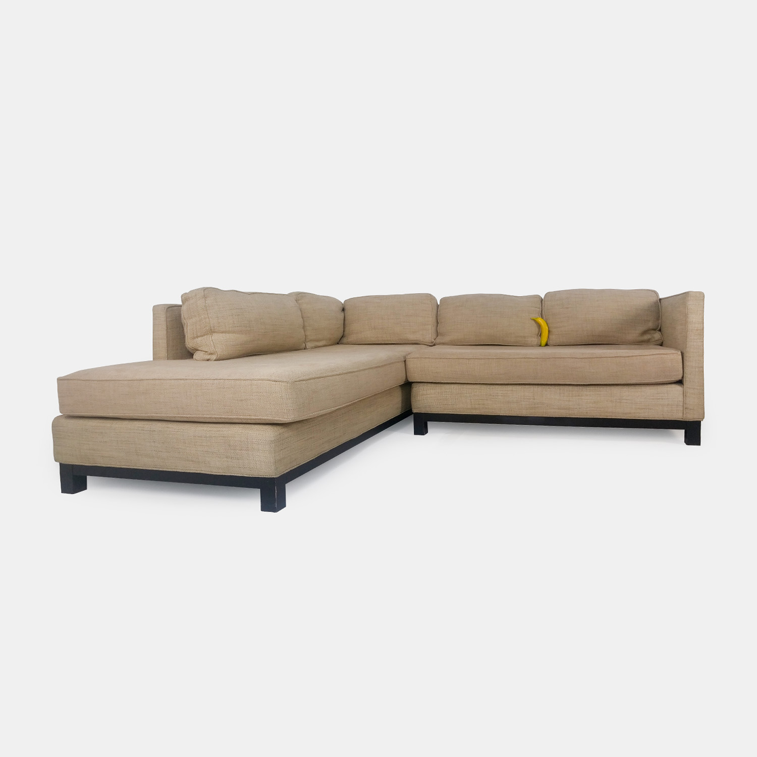gold sectional sofa billig online 51 off mitchell beige sofas