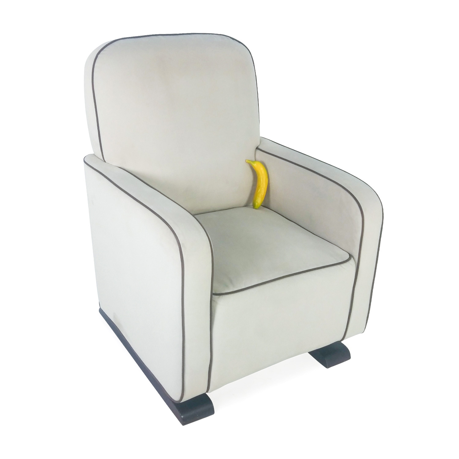 White Modern Chair 88 Off Modern White Rocking Chair Chairs
